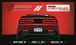 2017 Chrysler Nationals- Demon 8x5 Banner