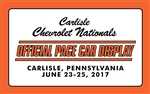 2017 Chevrolet Nationals- Pace Car 8x5 Banner