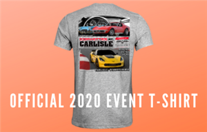 2020 Corvettes at Carlisle Event T-Shirt