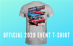 2020 Carlisle Chevrolet Nationals Event T-Shirt