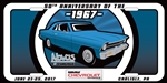 2017 Chevrolet Nationals- Nova License Plate